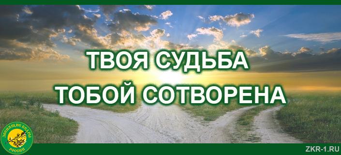3-TVOYA-SUDBA-TOBOJ-SOTVORENA